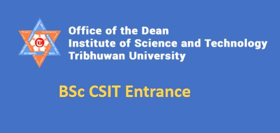 BSc CSIT Entrance Result 2077