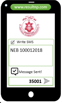 NEB Result via sparrow SMS